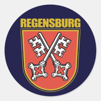 Regensburg Pegatina Redonda