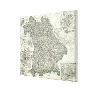 Regensburg Region of Germany Canvas Print