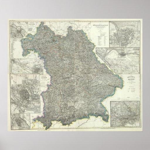 Regensburg Region of Germany Print