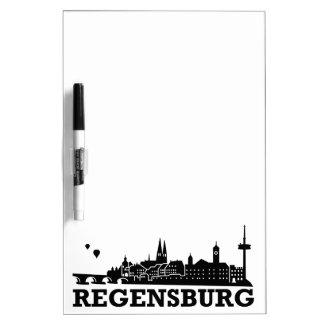 Regensburg Skyline Dry-Erase Boards