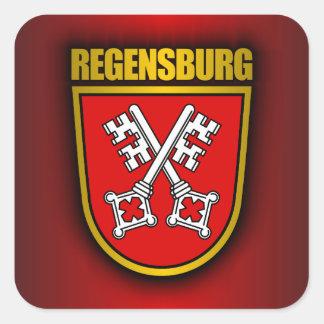Regensburg Square Sticker
