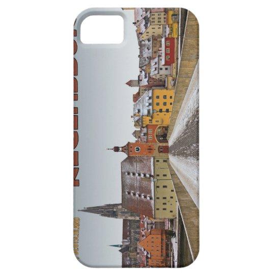 Regensburg - View from Steinerne Brücke iPhone SE/5/5s Case