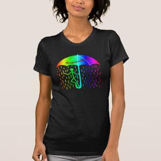 regenschirm-regenbogen camiseta