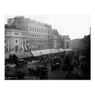 Regent Circus, London, c.1890 Postcard