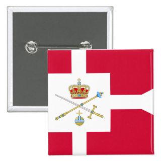 Regent Of Denmark, Greenland Pinback Buttons