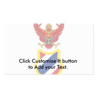 Regent Of Thailand, Thailand flag Business Card