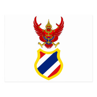 Regent Of Thailand, Thailand flag Postcard