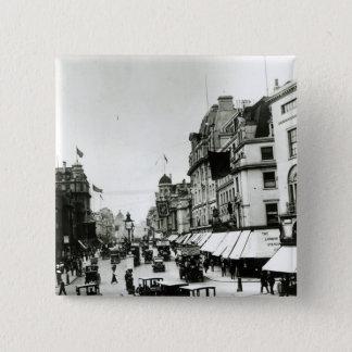 Regent Street, 1910s Pinback Button