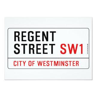 Regent Street Card