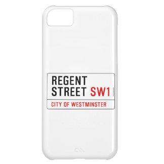 Regent Street iPhone 5C Covers