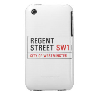 Regent Street iPhone 3 Case