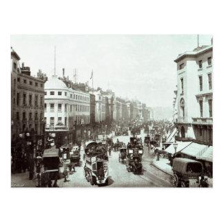 Regent Street, London c.1900 Postcard