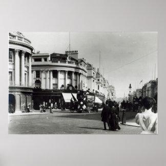 Regent Street, London, c.1900 Poster