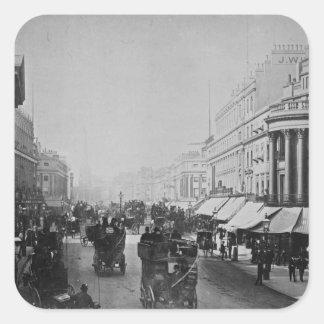 Regent Street, London Square Sticker