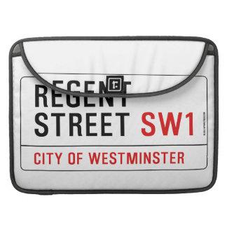 Regent Street MacBook Pro Sleeve