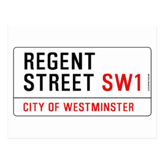 Regent Street Postcard