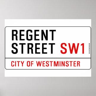 Regent Street Print