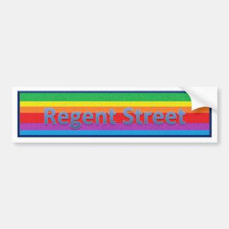 Regent Street Style1 Bumper Sticker