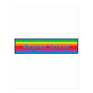 Regent Street Style1 Postcard