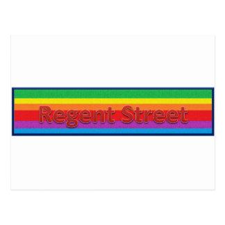 Regent Street Style 3 Postcard