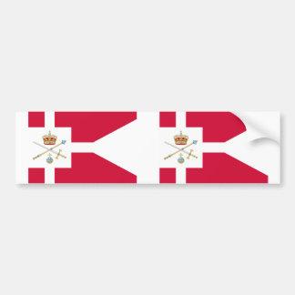 Regente de Dinamarca, Groenlandia Pegatina De Parachoque