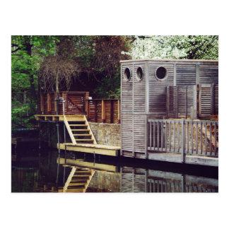 Regents Canal Postcard