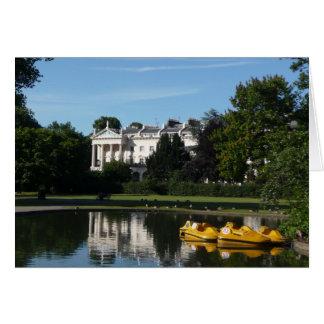 Regents Park boating Card