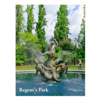 Regent's Park London Postcard