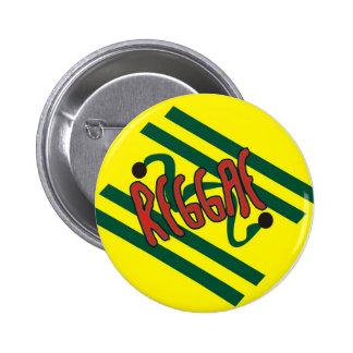 Reggae 2 Inch Round Button