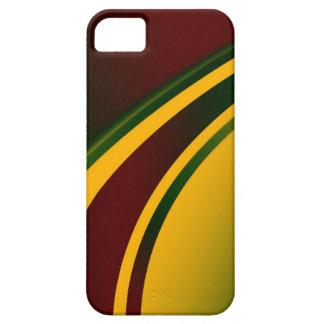 Reggae Black, Red, Yellow, Green iPhone 5 Case