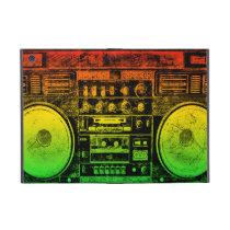 reggae boombox iPad mini case