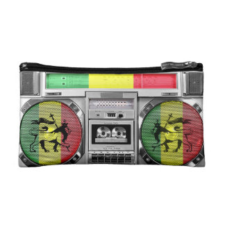 reggae boombox makeup bag