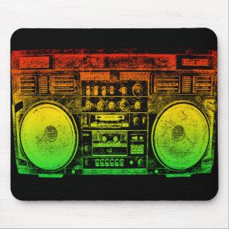 Reggae Boombox Tapetes De Ratones