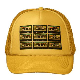 Reggae Cassette Tape Trucker Hat