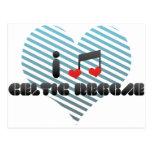 Reggae céltico tarjetas postales