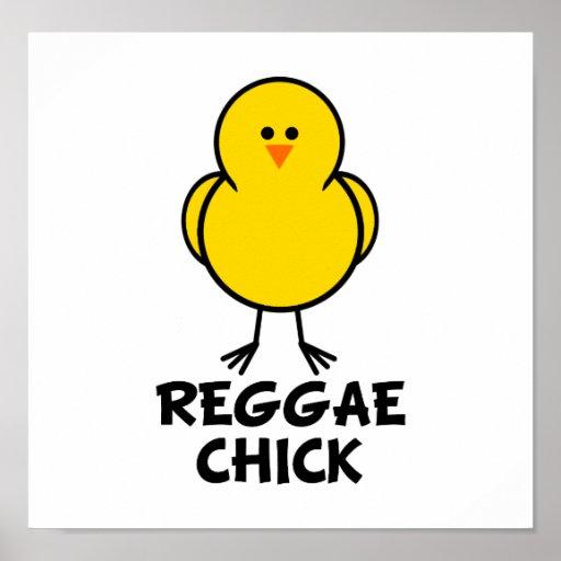 Reggae Chick Posters