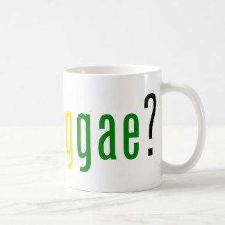 ¿reggae conseguido? taza básica blanca