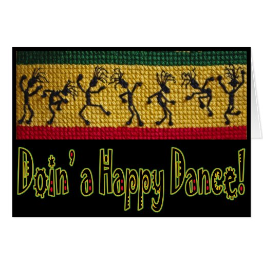 Reggae Greeting Cards