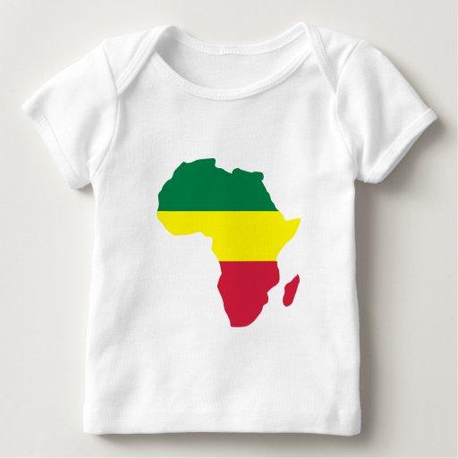 Reggae de África Playera De Bebé