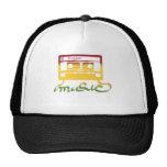 reggae de la cinta del rasta gorras