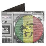 reggae del boombox billeteras tyvek®