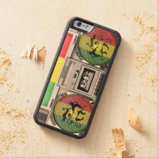 reggae del boombox funda de iPhone 6 bumper arce
