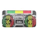 reggae del boombox funda acolchada para móvil
