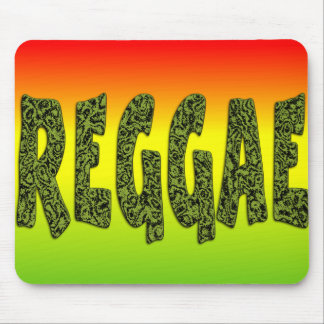 Reggae design mouse pad