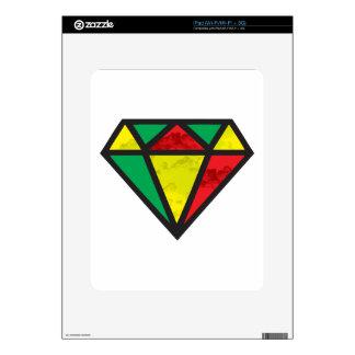 Reggae Diamond Decal For iPad