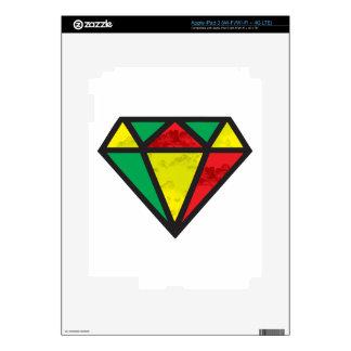 Reggae Diamond iPad 3 Decals