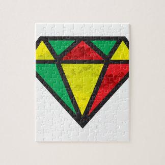 Reggae Diamond Jigsaw Puzzle