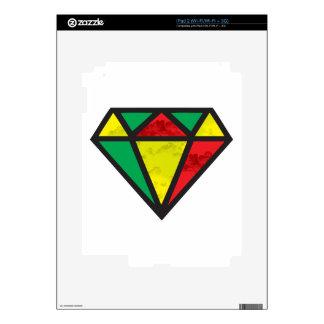 Reggae Diamond Skins For iPad 2