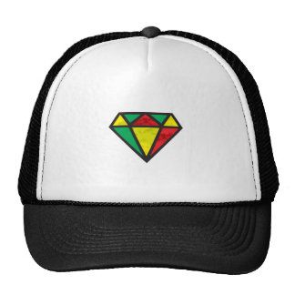 Reggae Diamond Trucker Hat