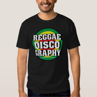 Reggae Discography Loops Tee Shirts
